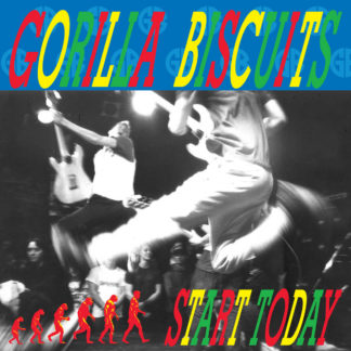 GORILLA BISCUITS Start Today - Vinyl LP (blue)