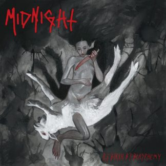MIDNIGHT Rebirth By Blasphemy - Vinyl LP (grey marble)