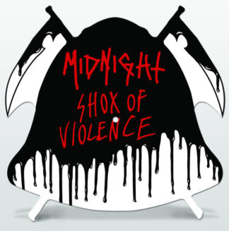 "MIDNIGHT Shox Of Violence - Vinyl 10"" (shaped picture disc)"