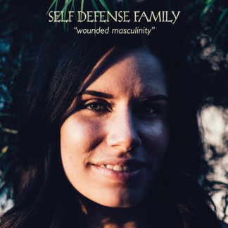 SELF DEFENSE FAMILY Wounded Masculinity - Vinyl LP (transparent red)