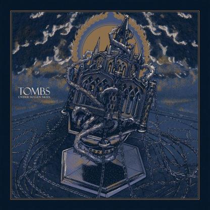 TOMBS Under Sullen Skies - Vinyl 2xLP (transparent red and black smoke black)