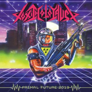 TOXIC HOLOCAUST Primal Future: 2019 - Vinyl LP (purple with green splatter)