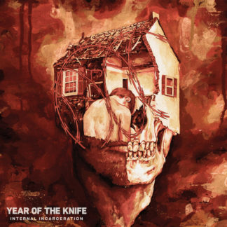 YEAR OF THE KNIFE Internal Incarceration LP (blood red and bone galaxy)