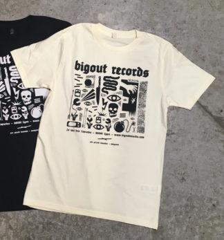 BIGOÛT RECORDS Gérald Tournier / Pangram - T-shirt (sand)
