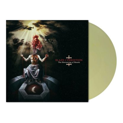 BLAZE OF PERDITION The Harrowing Of Hearts - Vinyl LP (pale yellow green marble)