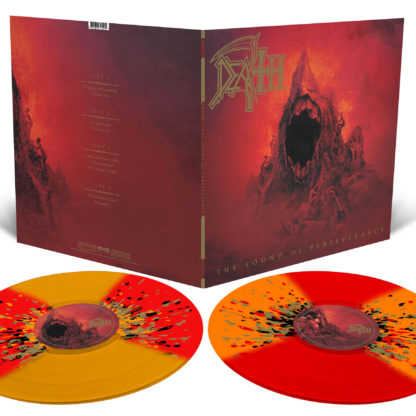 DEATH The Sound Of Perseverance - Vinyl 2xLP (Transparent Orange with Red Butterfly Wings and Metallic Gold, Black and Orange Splatter)