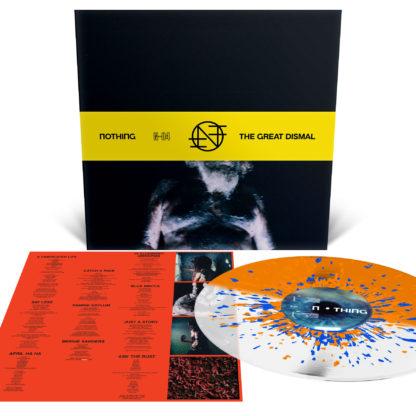 NOTHING The Great Dismal - Vinyl LP (Neon Orange and Milky Clear Half 'n Half with Neon Orange and Royal Blue Splatter)
