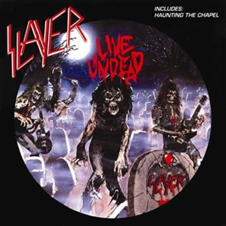 SLAYER Live Undead - Vinyl LP (black)