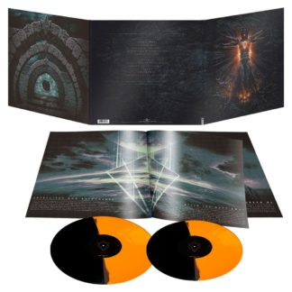 "IN FLAMES Clayman (20th anniversary edition) - Vinyl LP + 10"" (bi-coloured black orange)"