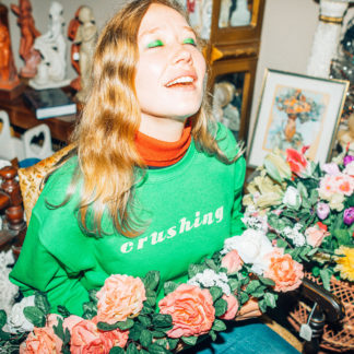 JULIA JACKLIN Crushing - Vinyl LP (green)