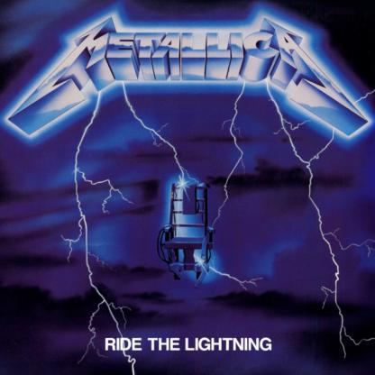 METALLICA Ride The Lightning - Vinyl LP (black)