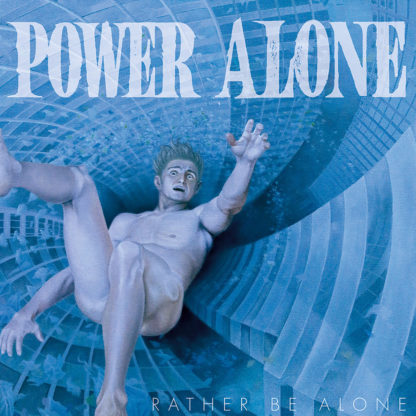 POWER ALONE Rather Be Alone - Vinyl LP (pink)