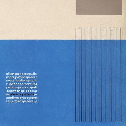 PREOCCUPATIONS S/t - Vinyl LP (clear)
