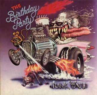 "THE BIRTHDAY PARTY Junkyard - Vinyl LP (black) + 7"" (black) + CD"