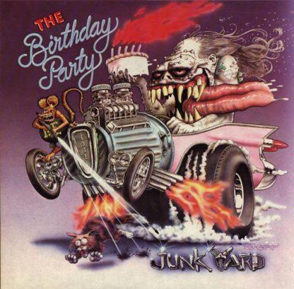"THE BIRTHDAY PARTY Junkyard - Vinyl LP (black) + 7"" (black) + CD"