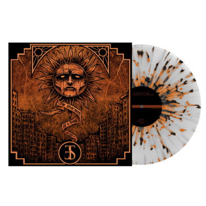 EMPLOYED TO SERVE The Warmth of a Dying Sun - Vinyl LP (clear with orange and black splatter)