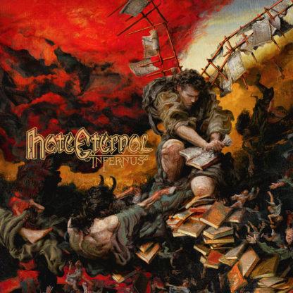 HATE ETERNAL Infernus - Vinyl LP (opaque green)