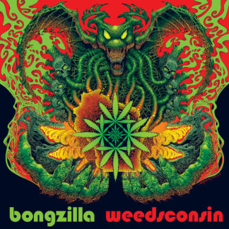 BONGZILLA Weedsconsin - Vinyl LP (transparent green with red splatter | black)