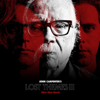 JOHN CARPENTER Lost Themes III: Alive After Death - Vinyl LP (red)