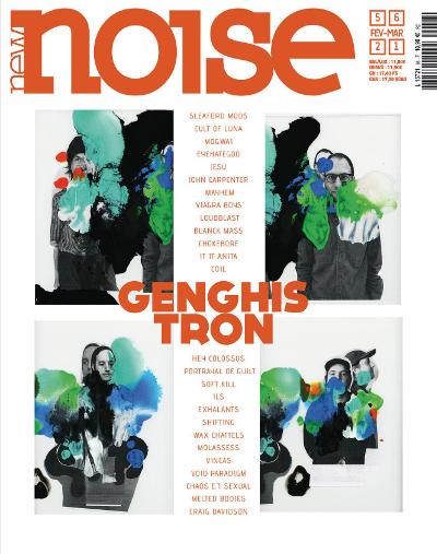 NEW NOISE MAGAZINE #56 Genghis Tron