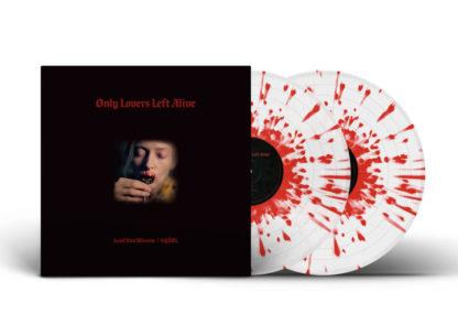 SQÜRL & JOZEF VAN WISSEM Only Lovers Left Alive (Original Motion Picture Soundtrack) - Vinyl 2xLP (clear with red splatter)