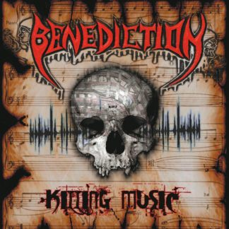 BENEDICTION Killing Music - Vinyl LP (silver) + CD