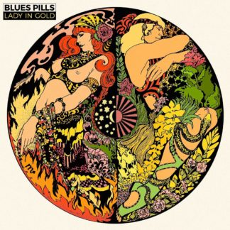 BLUES PILLS Lady In Gold - Vinyl LP (green black)