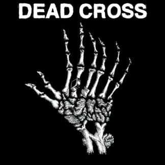 "DEAD CROSS s/t - Vinyl 10"" (swamp green with black swirl)"