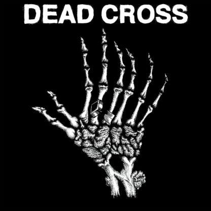 "DEAD CROSS s/t - Vinyl 10"" (swamp green with black swirl)"