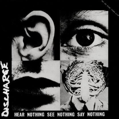 DISCHARGE Hear Nothing See Nothing Say Nothing - Vinyl LP (black)