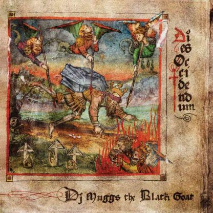 DJ MUGGS THE BLACK GOAT Dies Occidendum - Vinyl LP (red)