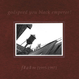 GODSPEED YOU! BLACK EMPEROR F♯ A♯ ∞ - Vinyl LP (black)