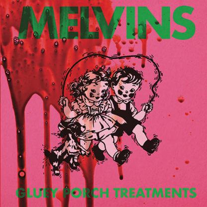 MELVINS Gluey Porch Treatments - Vinyl LP (lime green)