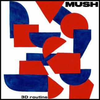 MUSH 3d Routine - Vinyl LP (orange black)