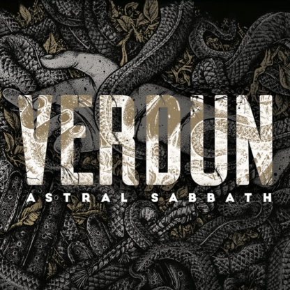 VERDUN Astral Sabbath - Vinyl 2xLP (gold with white marble)