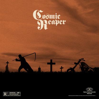 COSMIC REAPER S/t- Vinyl LP (transparent orange with black splatter | black)