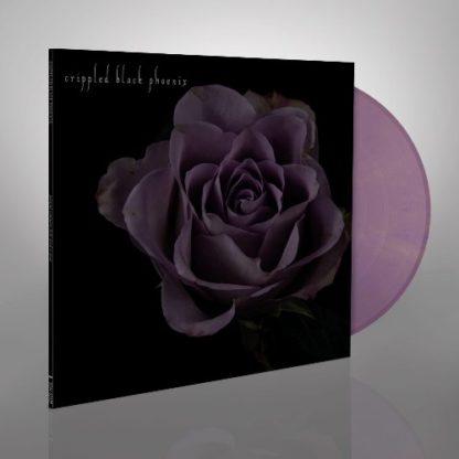 "CRIPPLED BLACK PHOENIX Painful Reminder / Dead Is Dead - Vinyl 10"" (gold purple marble)"