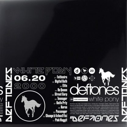 DEFTONES White Pony (20th anniversary deluxe edition) - Vinyl 4xLP (black)