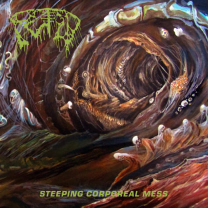 FETID Steeping Corporeal Mess - Vinyl LP (brown, bone, mustard tri-color merge)