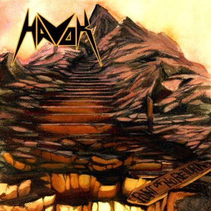 HAVOK Point Of No Return - Vinyl LP (transparent brown marble splatter)