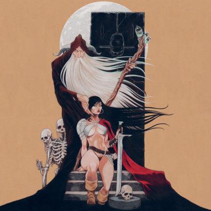KHEMMIS Absolution - Vinyl LP (blood red inside clear with blood red, black, gold splatter)