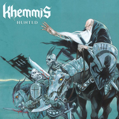 KHEMMIS Hunted - Vinyl LP (electric blue / clear cloudy effect)