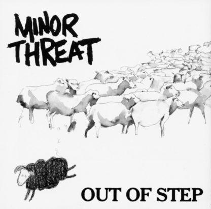 MINOR THREAT Out Of Step - Vinyl LP (black)