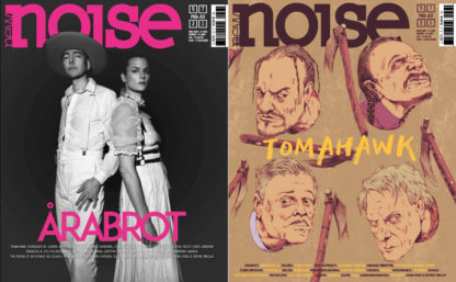 NEW NOISE MAGAZINE 57 Årabrot Tomahawk