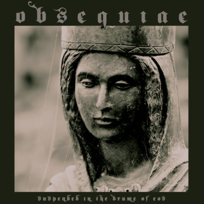 OBSEQUIAE Suspended in the Brume of Eos - Vinyl LP (ultra clear with kelly green splatter)
