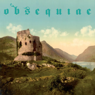 OBSEQUIAE The Palms Of Sorrowed Kings - Vinyl LP (ultra clear with gold and mint green splatter)