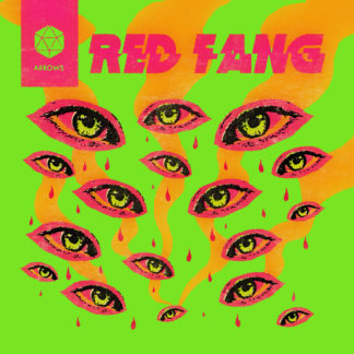 RED FANG Arrows - Vinyl LP (neon magenta black)