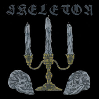 SKELETON S/t - Vinyl LP (black inside swamp green with grey, mustard yellow splatter)