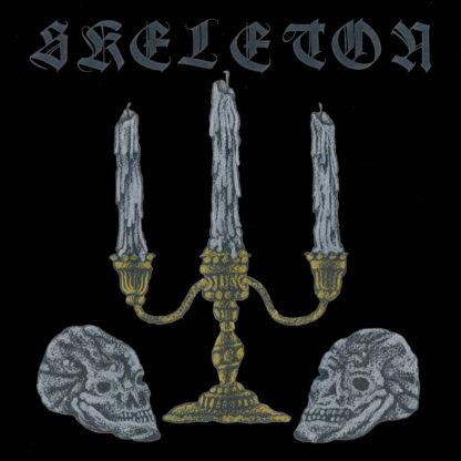 SKELETON S/t - Vinyl LP (black inside swamp green with grey, mustard yellow splatter)