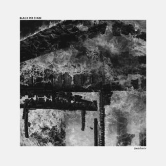 BLACK INK STAIN Incidents - Vinyl LP (clear with black and white splatters)